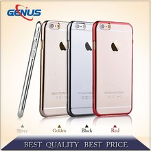 Wholesale custom cheap universal mobile phone cases/plain plating cell phone cases
