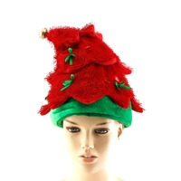Musical Christmas tree hat for Santa party celebration wear