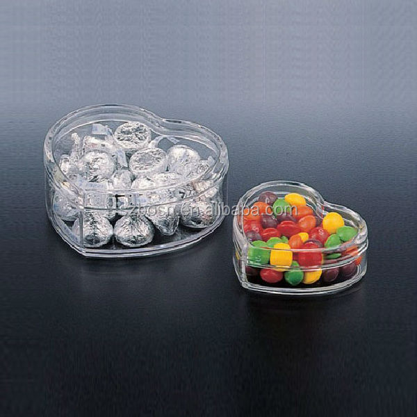 Acrylic Candy Holder Display Box Lucite Acrylic Countertop Container
