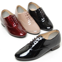 2scd0852 enamel oxford slim shoes Made in korea
