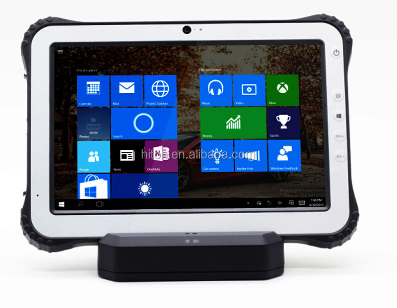 "Industrial Grade Tablet PC with Front and Back Camera 10.1"" Android Rugged Tablet"
