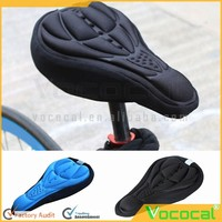 3D Anti-slip Mountain Bike Seat Soft Cushion Pad Comfortable Bicycle Saddle Cover