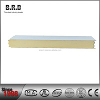 pu sandwich board\used polyurethane insulated panels for sale