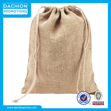 Promotional Logo Jute Hessian Sacks