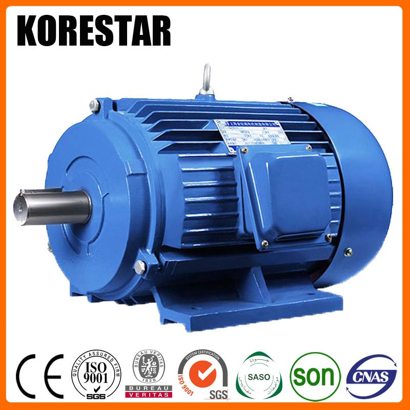 Korestar Y315L1-8 90 KW 125 HP ac induction electric motor electrique