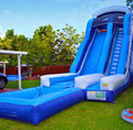 Hola giant inflatable slide for sale/giant inflatable water slide