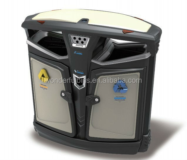 European Style Rubbish Barrel Outdoor Garbage Bin/ Litter Bin From Factory (H-02)
