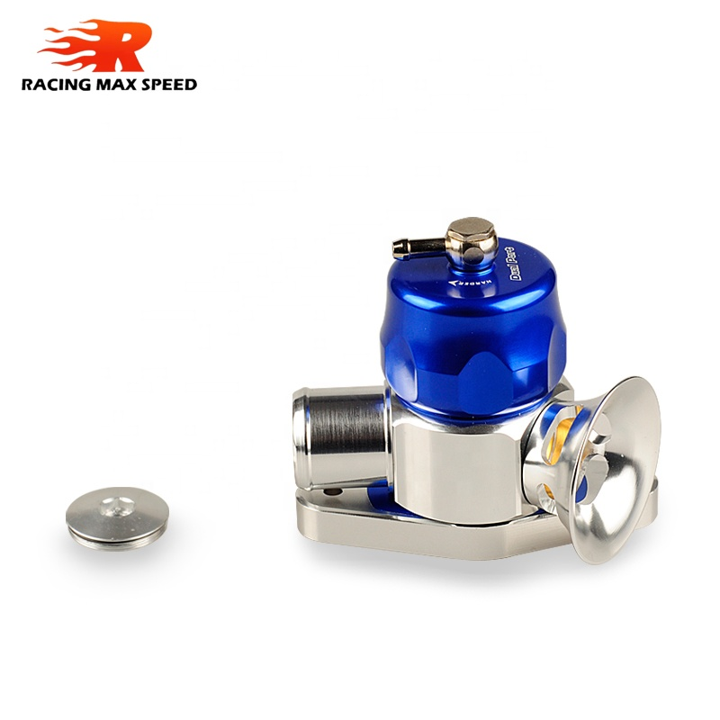 Universal 32mm Dual Port blow off valve Blue