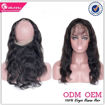 New arrival popular closure 360 lace frontal closure