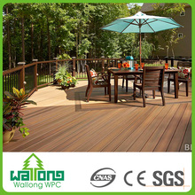 Waterproof outdoor floor wpc Co extrusion decking for balcony china tiles in pakistan
