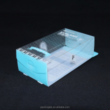 Small Rectangular PVC Plastic Transparent Packaging Box