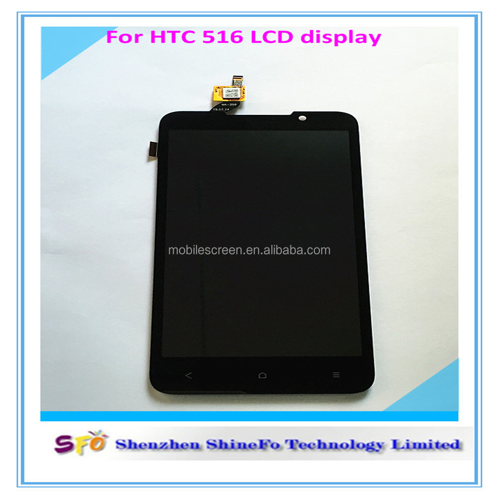 Factory directly for htc 516 lcd digitizer, touch screen for htc e8