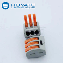 Electric terminal block wago 222 series female type 3 Pin terminal block connector