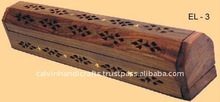 coffin box incense stick burner and wooden handicrafts