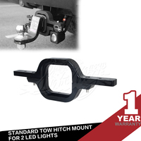 "3"" Mount Bracket for 2 LED Lights Standard Tow Hitch Trailer Truck SUV Tractor"