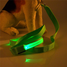2014 new cheap products for pet shop led retractable dog leash