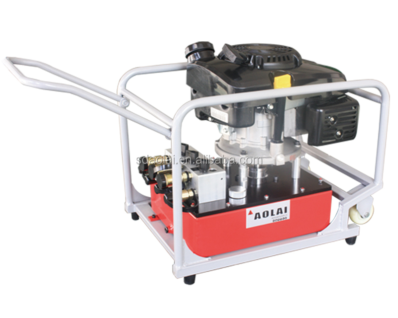 New! Gas power hyraulic power unit ,700bar High pressure hydraulic Pump for 3 tools