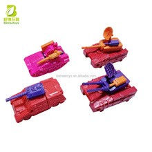 Factory Direct Deformation Tank Shape Change Toys Transforming Robot Plastic