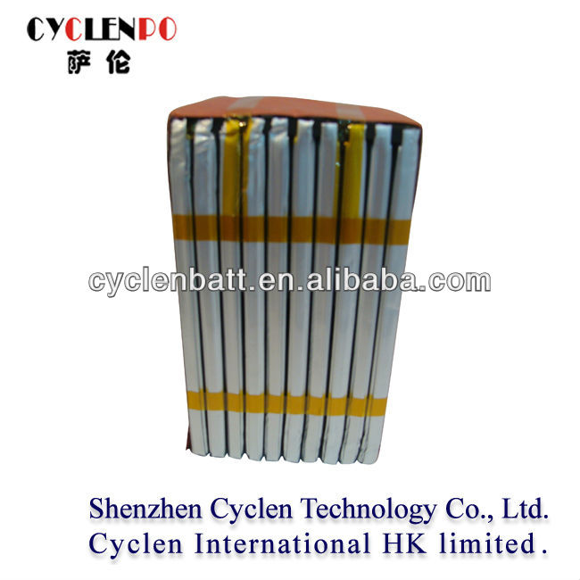 50Ah, 37V, LP7655125, China safe and high Voltage li-polymer rechargeable battery pack for E-bikes and Power Tools