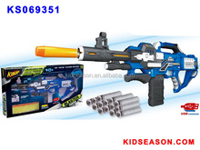 KIDSEASON AUTO SOFT BULLET BLASTER GUN TOY WITH 40PCS BULLET - USB CHARGING ABLE
