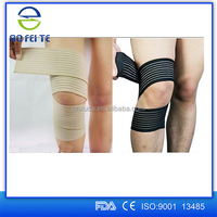 Elastic Support Brace Wrist Ankle Thigh Elbow Joint Sports Bandage Neoprene Black