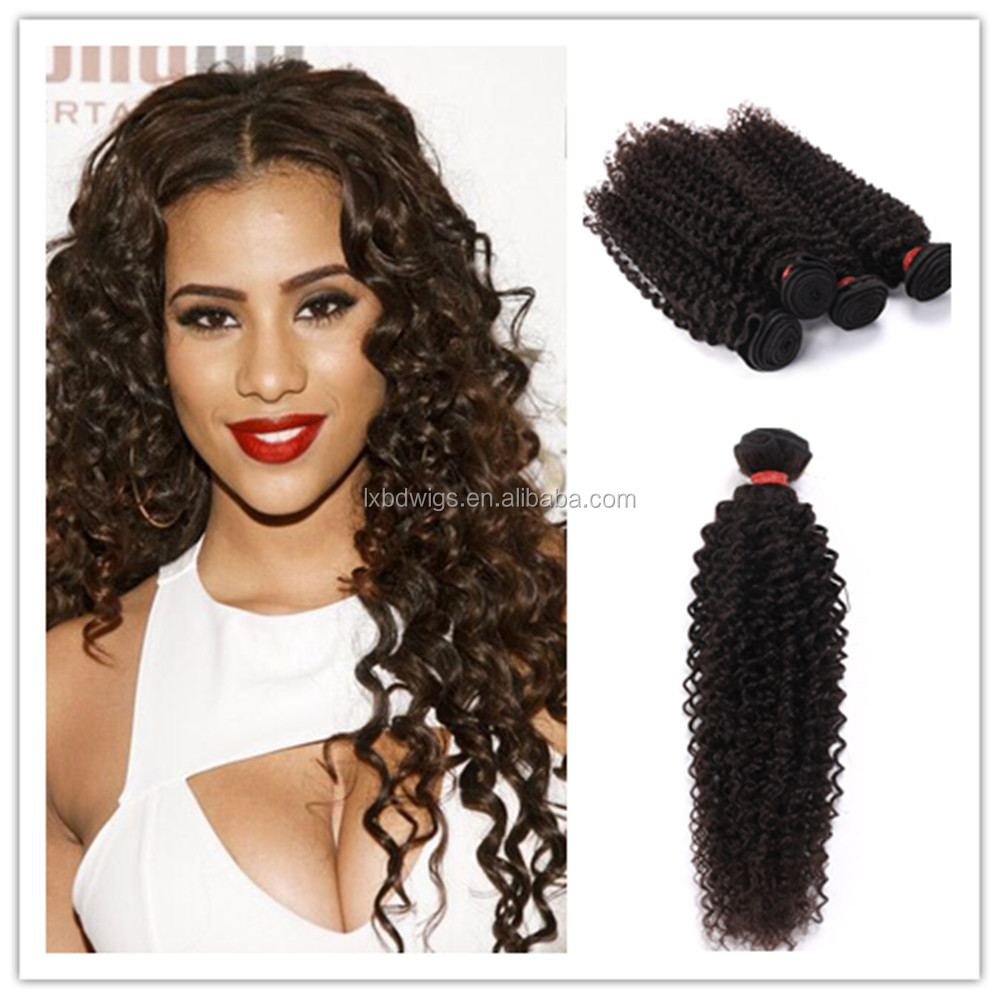 4inch human hair weave extensions expression hair weave