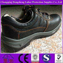 2014 New Leather Heeled Steel Toe Safety Shoe Made in China Alibaba