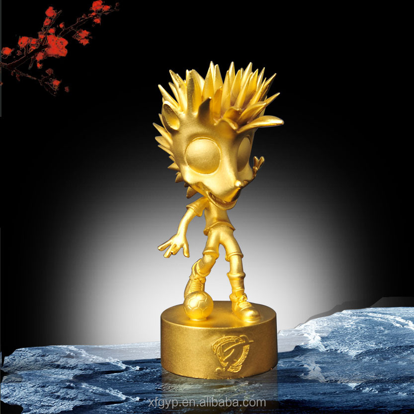 lovely casting electroplating metal awards Mascot