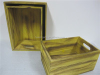 Natural Color Wood Craft Wooden Crates,Wooden Boxes