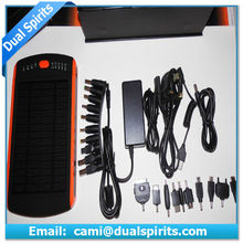 High Capacity 23000mAh Portable Solar Charger for Mobile Phone Laptop supplier