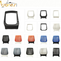 Factory outlet plastic office chair parts for executive chair
