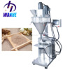 Semi automatic flour milk spice powder auger screw powder filling machine with weighter powder filler machine