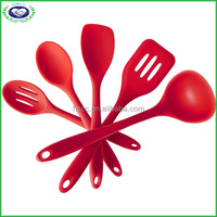 Hot sale Heat Resistant silicone kitchen cooking utensils set