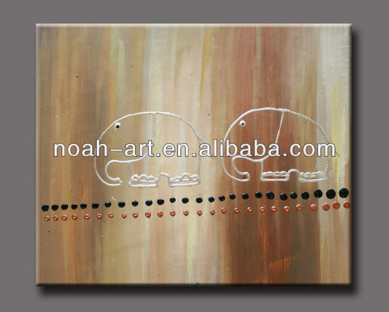 Amoy modern acrylic painting Line010