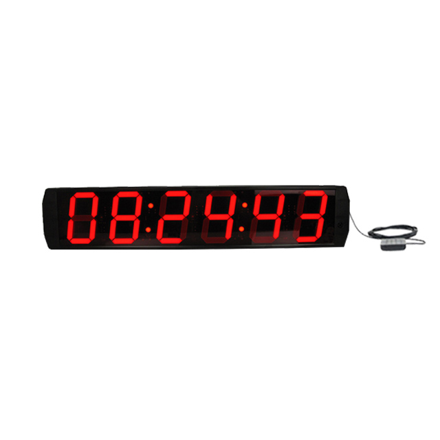 Ganxin 6 inch Large size  2 Set Alarm, Wall mounted gps sync digit