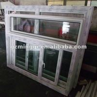 PVC sliding indoor window frame decoration