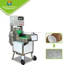 Electric multi-functional industrial coconut cube cutter coconut cutting machine