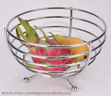 modern design Wire iron Fruit Basket banana basket