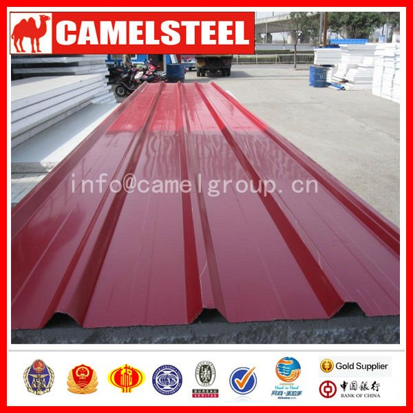 Red Rolled Roofing