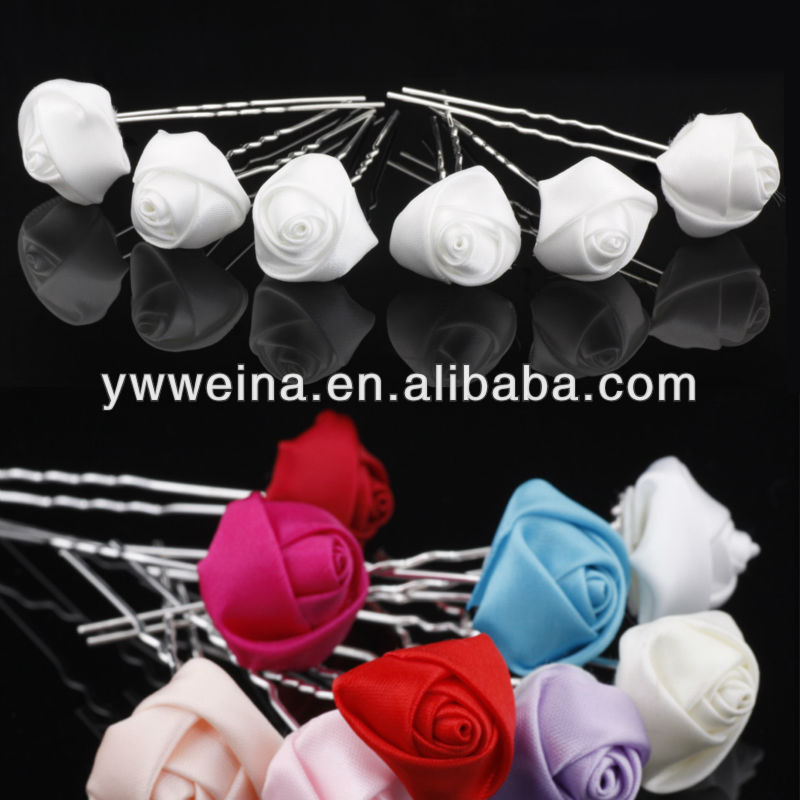 cheap handmade fabric hairpins