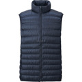 Custom european goose down new style men winter vest