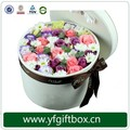 Wholesale unique custom print paper hat box flower packaging