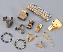 high precision brass copper electrical spring contact