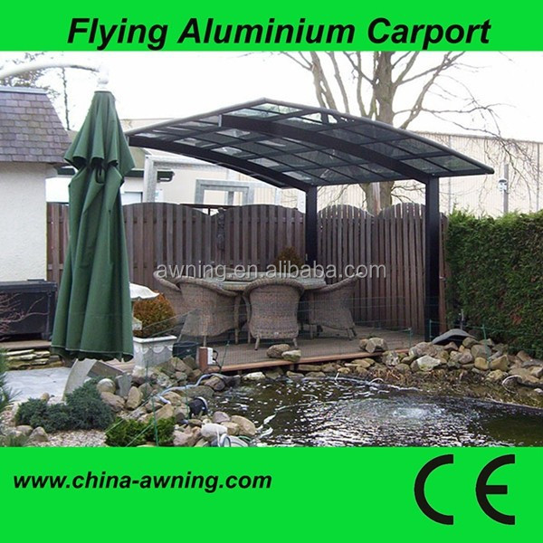 Outdoor Used Durable Car Canopy,Car Parking Shelter,Aluminum Carport/prefab wooden carport