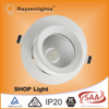 high brightness Epistar chip 30W gimbal led downlight with 3year warranty