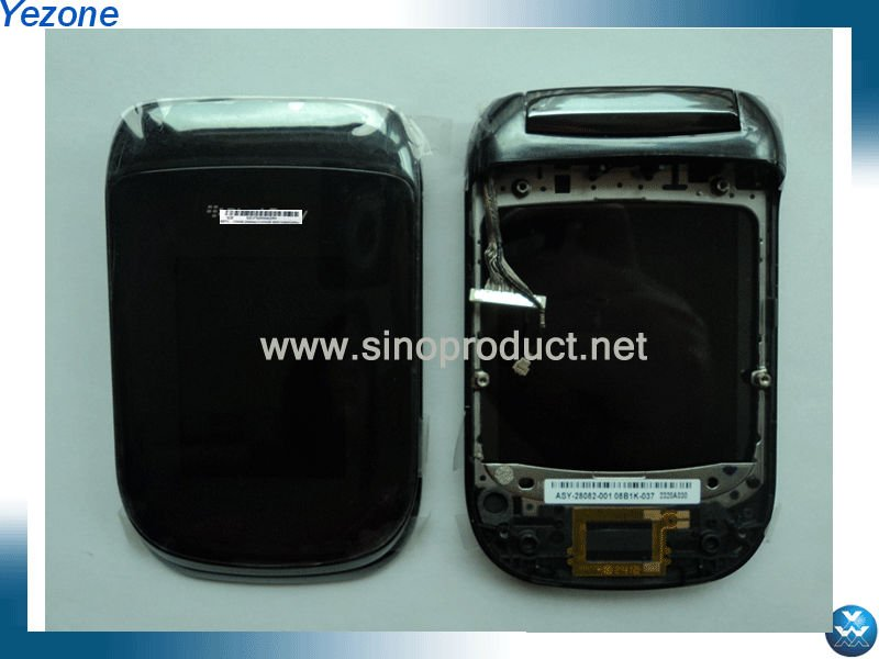 For Blackberry Style 9670 Flip Housing Assembly with LCD Screen