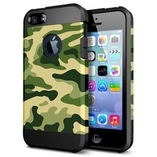 XDDZ 2017 Camouflage Armor Case for iPhone 7, for iPhone7 2 in 1 TPU+PC Shockproof Armor Case