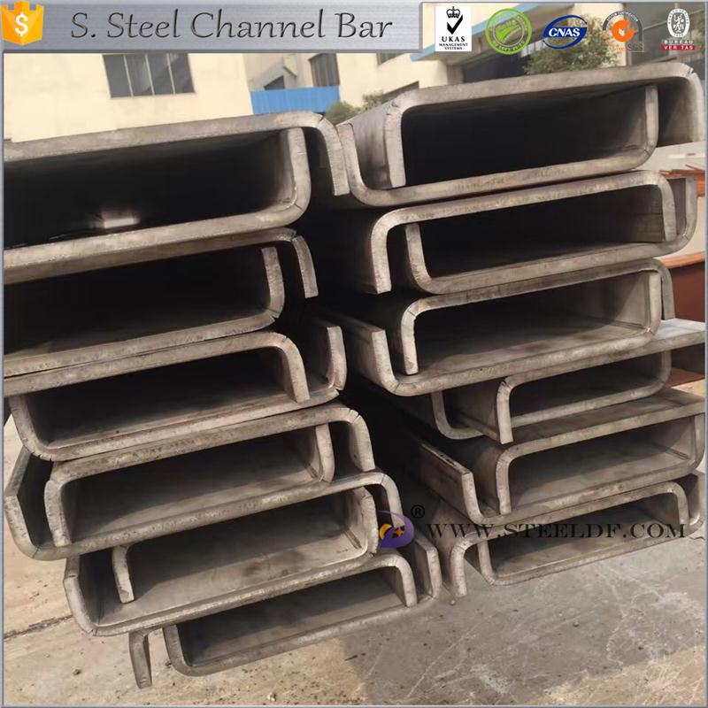 Hot selling 202 stainless steel channel bar for wholesales