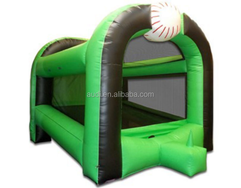 Baseball batting inflatable game, inflatable baseball bat