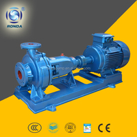 IS heavy duty industrial clean water pump end suction centrifugal water pump